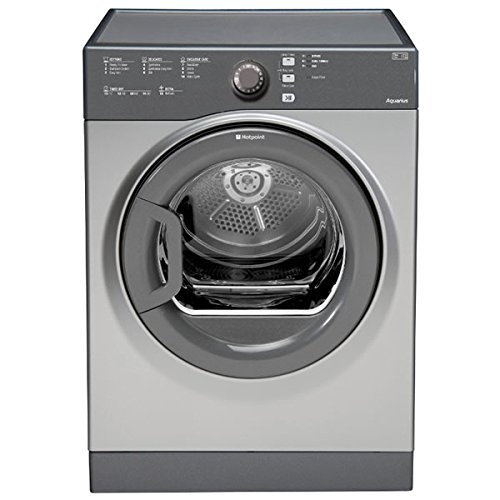 Hotpoint TVFS83CGG.9UK 8kg Sensor Vented Tumble Dryer in Graphite 2 Drying Temps