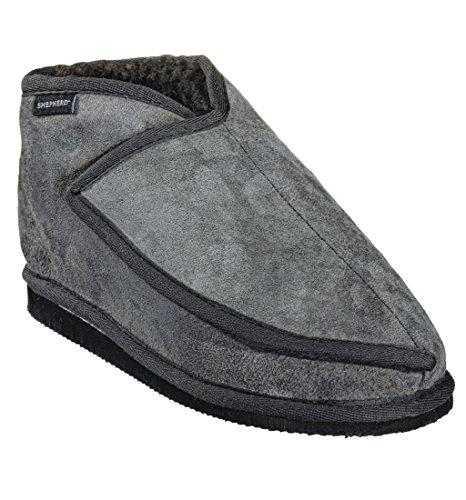 Shepherd ( Wassbring ) Zapatillas de estar Por casa Para Hombre Gris Gris Oscuro, Color Gris, Talla 40