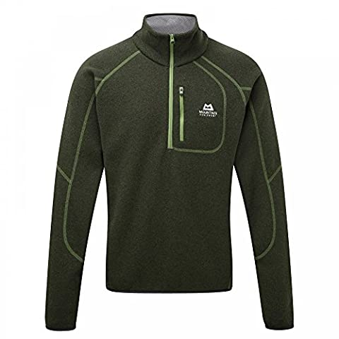 Mountain Equipment Chamonix Zip Sweater - Wollpullover, Farbe-ME:Broadleaf;Groesse-ME:L