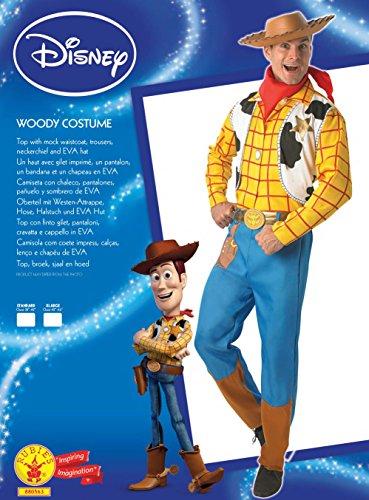 Imagen de rubie's–disfraz oficial de woody de toy story, disfraz para adultos–tamaño estándar alternativa