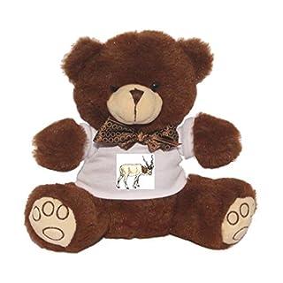 Teddy Bear with addax, nasomaculatus image t-shirt