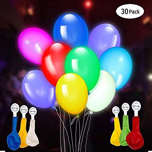 PuTwo Luftballons 37 Stück Happy Birthday Ballon Geburtstag Luftballons Folienballons & Latexballons Satz Partydekorationen Party Luftballon Dekoration Luftballon Geburtstag Dekorationen - Mehrfarbig