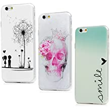 coque iphone 6 lot de 3 silicone