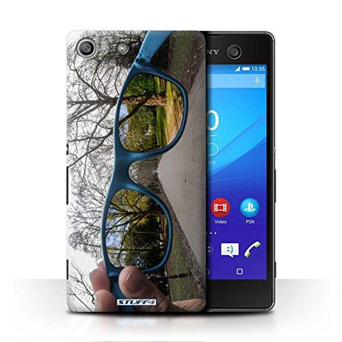 Custodia/Cover Rigide/Prottetiva STUFF4 stampata con il disegno Immaginarla per Sony Xperia M5 - Primavera Molle - M5 Primavera