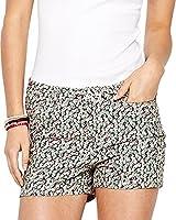 Vero Moda Wonder Luella Floral Print Shorts Pink/Green 26in