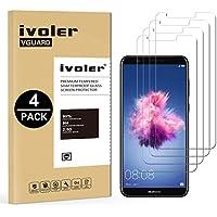 iVoler [4 Pack] Pellicola Vetro Temperato Huawei P Smart [Garanzia a Vita], Pellicola Protettiva, Protezione per Schermo