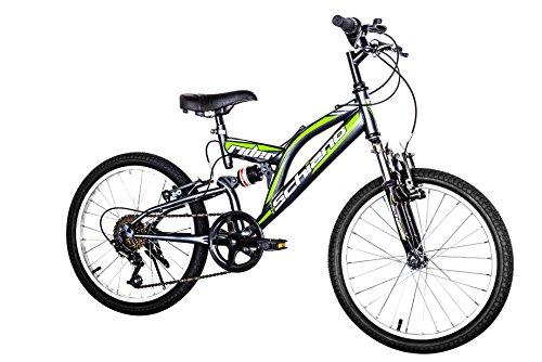 F.lli Schiano Rider Shimano Bicicleta Biamortiguada 18V, Hombre