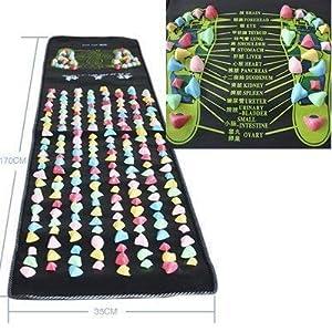 17 M X035 M Farbigen Fureflexzonen Massage Bein Massagegert Matte Health Care Yosoo