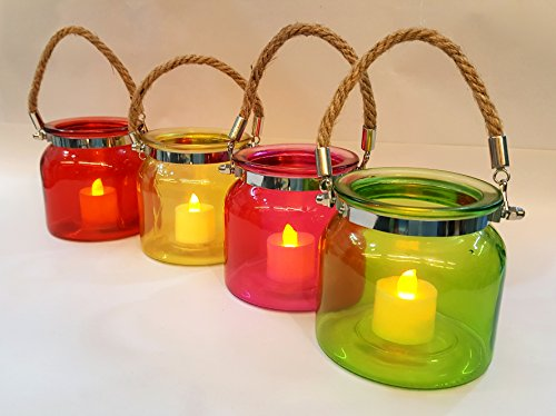 Satyam Kraft Tealight Candle Holder stand,candle tea light stand,candle stand for Romantic dates, Side Table Decoration, Corporate Gift, Add on Product for Your Temple At Home, Home Decor Item - 1 pcs Random Colour Note:- candle not include