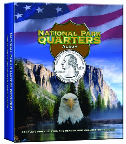 National Park Quarters Album Older Vol III: Complete Philadelphia and Denver Mint Collection 2010-2021