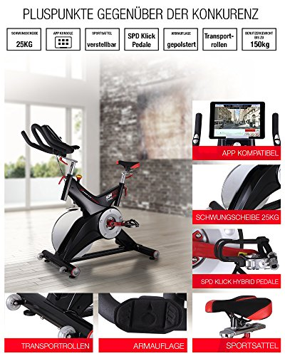 Sportstech Profi Indoor Cycle SX500 - 2