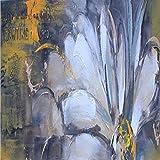 zgmtj Stampa Astratta Acquerello Orchidea Papavero Fiore Paesaggio Dipinto ad Olio su Tela Poster Parete Moderna Immagine per Soggiorno Decor