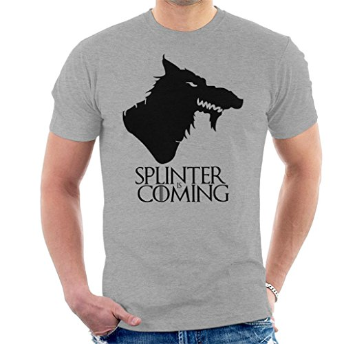 Ninja Turtles Splinter is Coming Game of Thrones TMNT Men's ()
