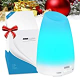Amir 100ml Colorful Ultrasonic Humidifier Aroma Diffuser, Aromatherapy Essential oil Diffuser Cool Mist Humidifier for Home, Yoga, Office, Spa, Bedroom, Baby Room Bild 1
