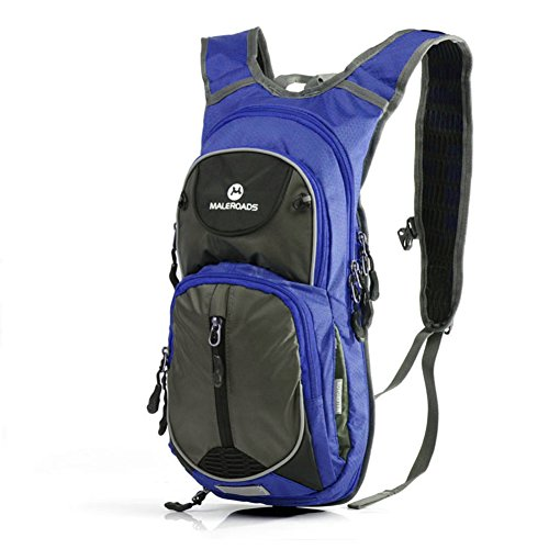 All aperto Equitazione pacchetti/Zaino moto/Attrezzatura equitazione/Uomini e donne viaggiano borsa zaino-arancione 2 blu
