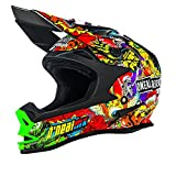 O'Neal 7Series MX Helm Evo Crank Stickerbomb Moto Cross Enduro Motorrad Quad Offroad