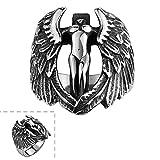 YELLOW CHIMES Eagle Soul Black Tough Sta...