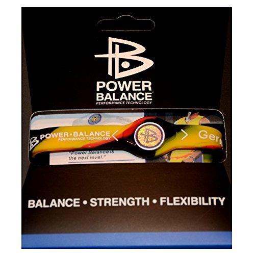 Power Balance braccialetto del silicone Disegno Germania Energetix 4you della