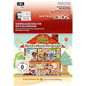 Animal Crossing: Happy Home Designer – [3DS]