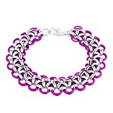 Weave Got Maille chainmaile Armband Schmuck-Set, mehrfarbig