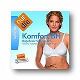 Nur Die Damen BH (Ohne Bügel) 835053/Komfort, Gr. 90C, weiß (weiß 030)