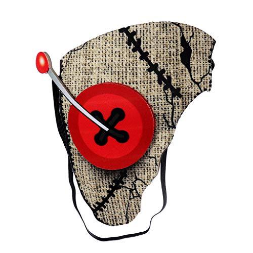 Kostüm Tier Rave - bloatboy Unisex Tier Maske - Cosplay Mask Kostüm Partyball Halloween Mardi Gras Half Face Hundemaske Weihnachten Party Dekoration (J)