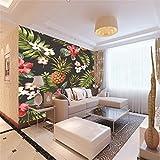 Fototapeten 3D Obstpflanze Moderne Vlies Wand Tapete Dekoration für Schlafzimmer Wohnzimmer Kinderzimmer 250CMx175CM