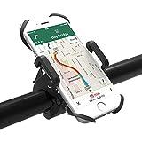 Handyhalterung Fahrrad TaoTronics Fahrradhalterung Handyhalterung Motorrad Halter 3facher Sicherheitschutz für Smartphones und GPS