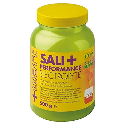 sali + performance - +watt - carboidrati sali e aminoacidi 500g arancia