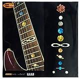 Griffbrett Marker Inlay Aufkleber Decals für Gitarre & Bass–Planet