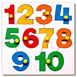 Little Genius Number Puzzle - 1 to 10 wi...