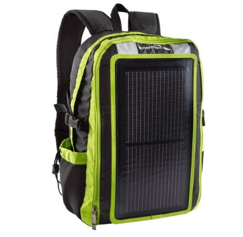 GoEnerplex PK-ALPHA-GR tragbares Solar-Rucksack Ladegerät (3 Watt) grün