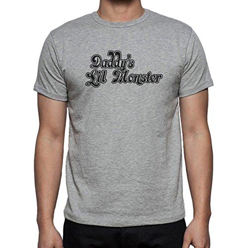 Suicide Squad Harleys TRex Daddys Little Monster Herren T-Shirt Grau