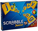 Let the children play of scrabble to hone their skills. Gift them an amazing collection of Junior Scrabble Crossword Game that can keep them occupied for long hours. The game is very interesting. Mattel Junior Scrabble Crossword Game allows the k...