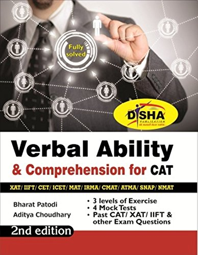 Verbal Ability & Comprehension for CAT/ XAT/ IIFT/ CMAT/ MAT/ Bank PO/...