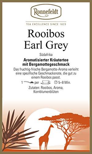 Ronnefeldt - Rooibos Earl-Grey - Aromat. Kräutertee aus Südafrika - 100g