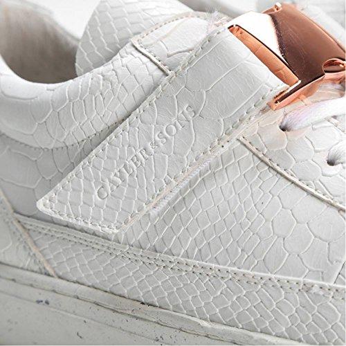 Cayler & Sons Homme Baskets Chutoro Blanc