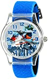 Disney Kids' W001971 Planes Analog Watch With Blue Band