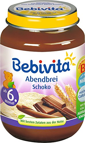 Bebivita - Abendbrei Schoko Glas Babybrei - 190g