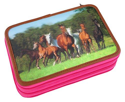 Unbekannt Horses Dreams 8726 Federtasche, Mehrfarbig