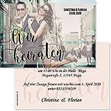 Hochzeit Einladungskarten Hochzeitskarten Vintage Wir heiraten (10)