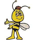 alles-meine.de GmbH 1 Stück _ Bügelbild -  die Kleine Biene Maja - Freund Willi  - 4 cm * 7,5 cm..