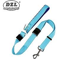gato cinturones de seguridad para coches 82 cm ajustable perro perro Cintur/ón de seguridad doble para perro correa de seguridad universal para gato 51 cintur/ón de seguridad para coche Godea