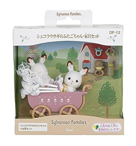 Twins, furniture set DF-12 of Sylvanian Families doll furniture set chocolate rabbit (japan import)