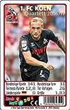 Teepe 23219 Sportverlag 1. FC Köln Quartett 16/17 Kartenspiele