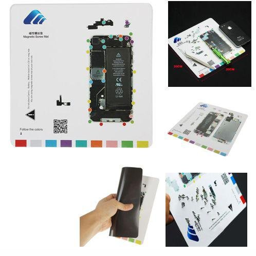 TEPPICH MAGNETIC MAGNETIC SCHRAUBEN PROJECT MAT APPLE IPHONE 4 REPAIR TOOL REPAIR GUIDE - Mat 4 Schraube Iphone