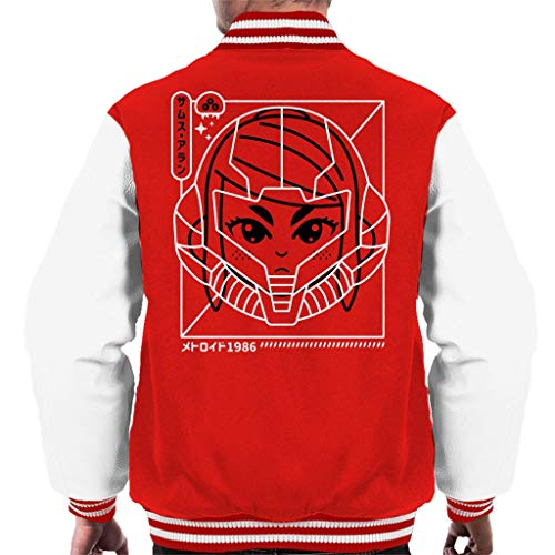 Cloud City 7 Cyber Helmet Metoroid Version II Men\'s Varsity Jacket