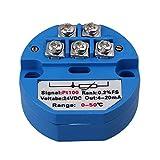 BQLZR RTD PT100 Temperatur Sensoren Messumformer 0 bis 50 Grad DC 24V Blau