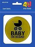 #9: Epoxy Sticker - Baby On Board