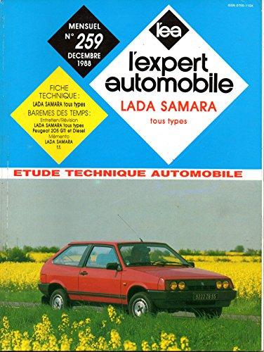 REVUE TECHNIQUE L'EXPERT AUTOMOBILE N° 259 LADA SAMARA 1100 / 1300 / 1500 par L'EXPERT AUTOMOBILE